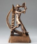 Ultra Action Resin Trophy -Tennis Female Tennis Trophy Awards