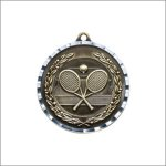 Diamond Cut Medal - Tennis Tennis Trophy Awards