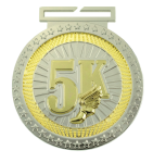 Dual Plated Medallion -5K Track Trophy Awards