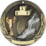 Tri-Colored Series Medals -Track Track Trophy Awards
