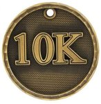 3-D Medal -10K Track Trophy Awards