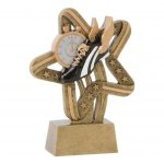 Stars and Stripes Resin Awards -Track Track Trophy Awards