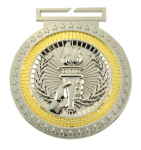 Dual Plated Medallion -Victory Victory Trophy Awards