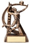 Ultra Action Resin Trophy -Volleyball Male Volleyball Trophy Awards