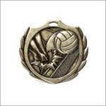 Burst Medal - Volleyball Volleyball Trophy Awards