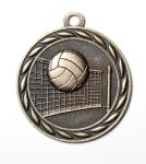 Scholastic Medal - Volleyball Volleyball Trophy Awards