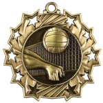Ten Star Medal -Volleyball Volleyball Trophy Awards