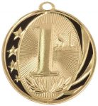 MidNite Star Medal -1st Place  Volleyball Trophy Awards