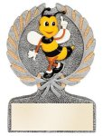 Spelling Bee Multi Color Sport Resin Figure Wreath Awards